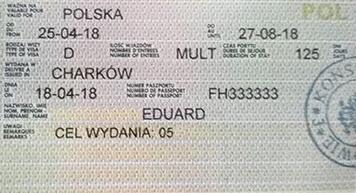 рабочая виза в Польшу под ключ
