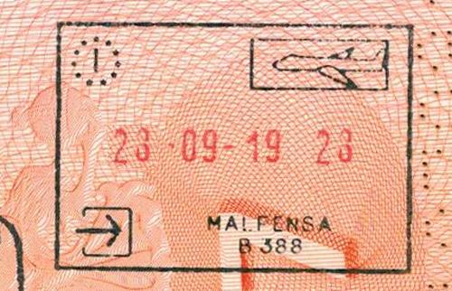 в Италию за 1 день - виза