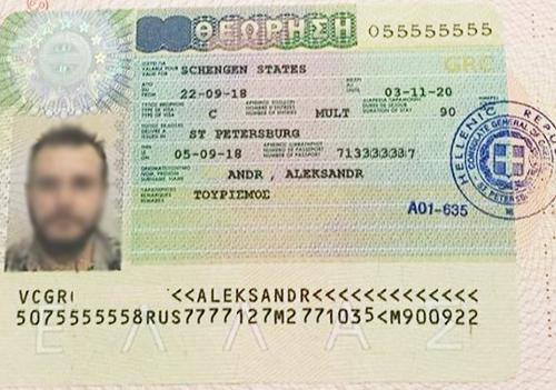 виза в Грецию на 2 года